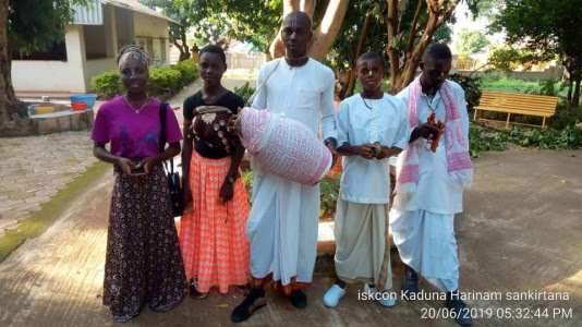 Prayers request: Temple President of ISKCON Kaduna (Nigeria) and young daughter killed in a motor crash