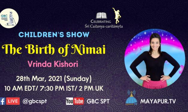 Children's Show-The Birth of Nimai