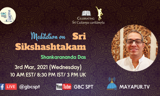 Meditation on Sri Sikshashtakam