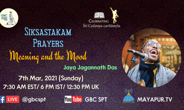 Sikshatakam Prayers-Meaning and the Mood