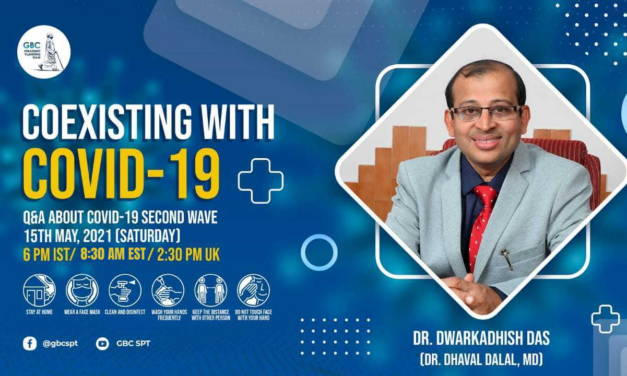 Coexisting with COVID-19: Live conversation with Dr Dwarkadhish Das