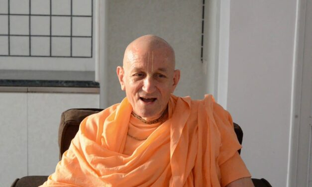 Glorification of HG Pankajanghri Pr from HH Bhaktimarga Swami